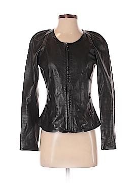 Banana Republic Leather Jacket Size XS