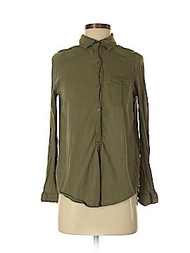 Sun & Shadow Long Sleeve Button-Down Shirt Size XS