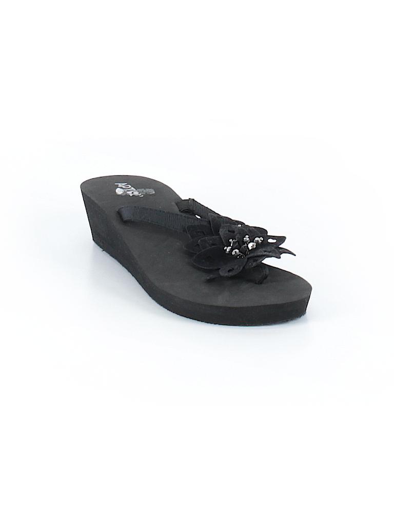 efe0ee40b3a21 Apt. 9 Solid Black Wedges Size 7 - 8 - 86% off