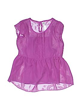 Cherokee Short Sleeve Blouse Size 6/6X