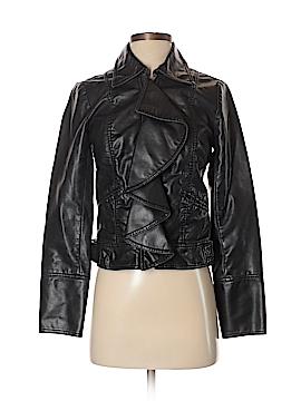 Jolt Faux Leather Jacket Size S
