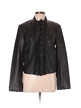 Cache Leather Jacket Size L