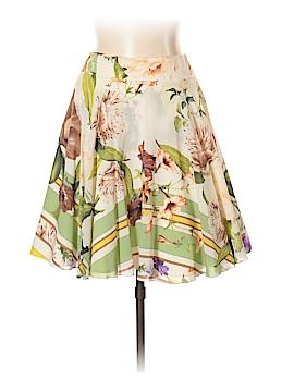 Roberto Cavalli Silk Skirt Size 46 (IT)