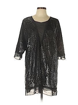 Melissa McCarthy Seven7 3/4 Sleeve Blouse Size 0X (Plus)