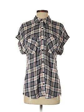 Como Vintage Short Sleeve Blouse Size S