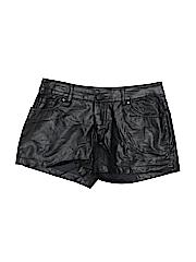 Xhilaration Women Faux Leather Shorts Size 7