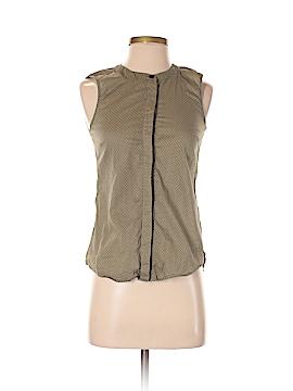 Numph Sleeveless Button-Down Shirt Size 8 (UK)