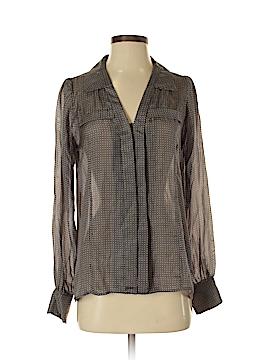 Heartloom Long Sleeve Silk Top Size S
