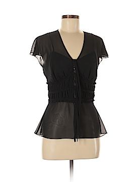 Liz Claiborne Short Sleeve Blouse Size 6