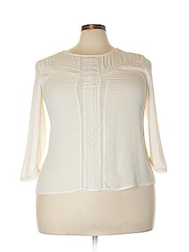 LC Lauren Conrad 3/4 Sleeve Blouse Size XXL
