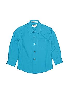Gioberti Long Sleeve Button-Down Shirt Size 3T