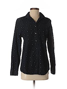 Lands' End Long Sleeve Button-Down Shirt Size S
