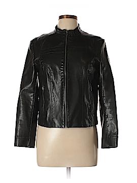 Worthington Faux Leather Jacket Size M (Petite)