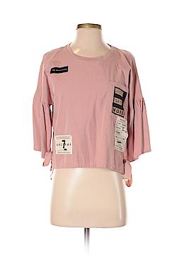 Bershka 3/4 Sleeve T-Shirt Size S