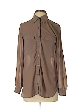 Spense Long Sleeve Button-Down Shirt Size S