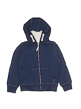 M&S Zip Up Hoodie Size 7-8
