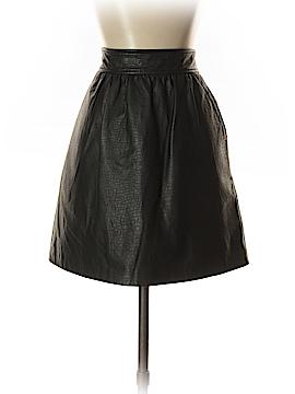 Tibi Leather Skirt Size 4