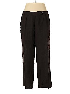 Jones New York Linen Pants Size 14W