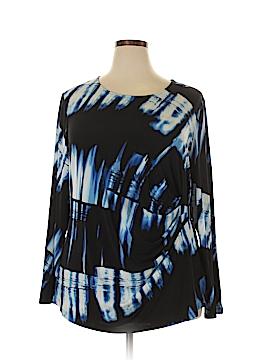 Calvin Klein Long Sleeve Top Size 2X (Plus)