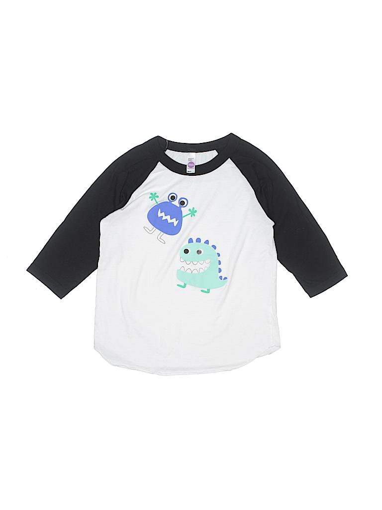 Kids Boys Long Sleeve T-Shirt Size 6