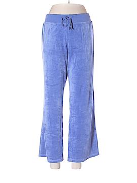 New York & Company Velour Pants Size L