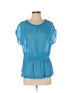 Julie Haus Short Sleeve Blouse Size 4