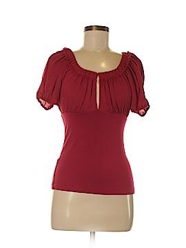 BCBGeneration Short Sleeve Blouse Size XS