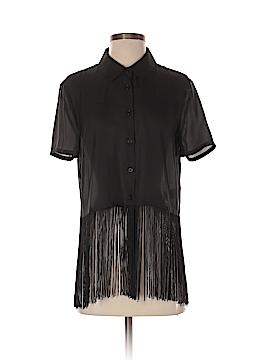 Nom De Plume by YaYa Short Sleeve Blouse Size S