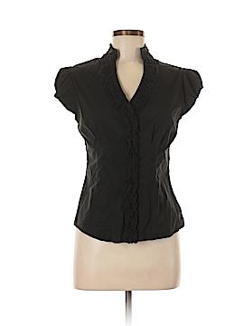 Bebe Short Sleeve Button-Down Shirt Size M