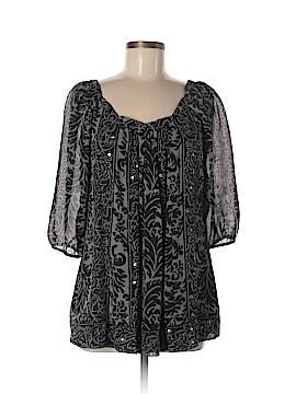 Nicole Miller 3/4 Sleeve Blouse Size 8