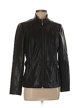 Tribal Faux Leather Jacket Size 8