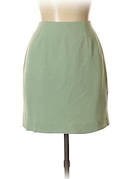 Hugo Buscati Collection Silk Skirt Size 12