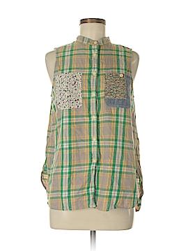 Denim & Supply Ralph Lauren Sleeveless Button-Down Shirt Size M