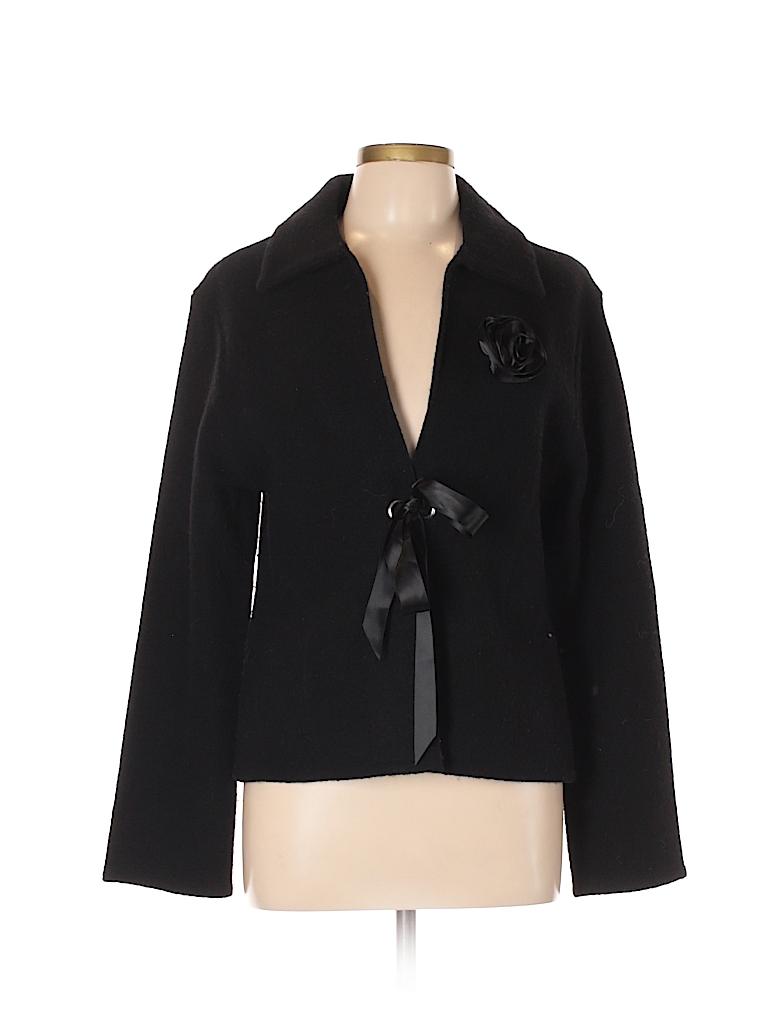 A. Giannetti Women Wool Blazer Size L