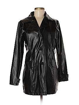 Paris Blues Faux Leather Jacket Size M