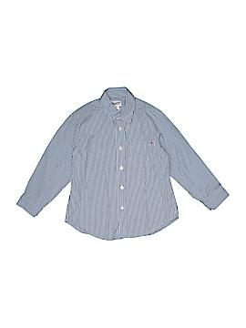 Bonpoint Long Sleeve Button-Down Shirt Size 4