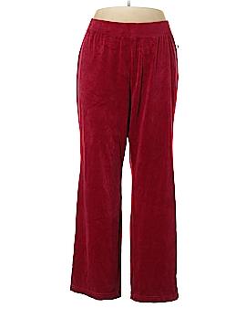 Karen Scott Velour Pants Size 1X (Plus)