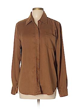 DKNY Long Sleeve Button-Down Shirt Size 10