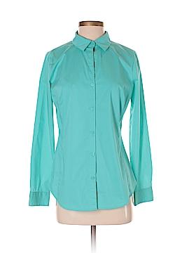 Worthington Long Sleeve Button-Down Shirt Size 4