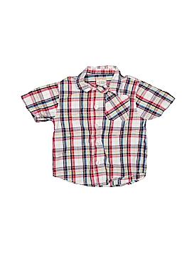 Arizona Jean Company Short Sleeve Button-Down Shirt Size 18 mo