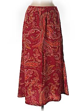 Eddie Bauer Silk Skirt Size 8