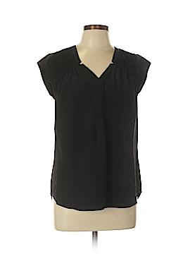 Daniel Rainn Short Sleeve Silk Top Size M