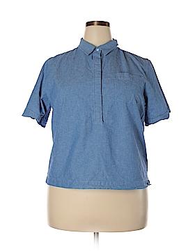 J. Crew Factory Store Short Sleeve Button-Down Shirt Size XXL