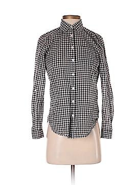 Ann Taylor Long Sleeve Button-Down Shirt Size XXS (Petite)