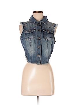 Highway Jeans Denim Vest Size M