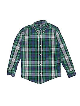 Gap Kids Outlet Long Sleeve Button-Down Shirt Size 10