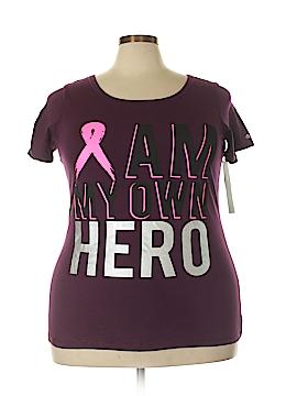 Ideology Short Sleeve T-Shirt Size 2X (Plus)