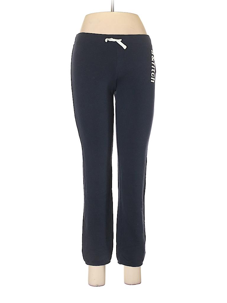 4d6c2d2ce5 Abercrombie & Fitch Solid Blue Sweatpants Size L - 63% off | thredUP