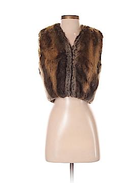 Jill Stuart Faux Fur Vest Size S