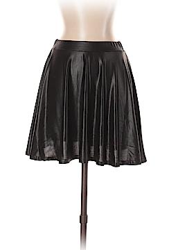 Derek Heart Faux Leather Skirt Size M
